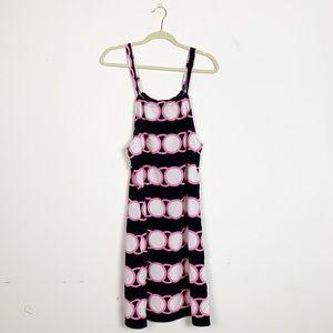Crown & Ivy Circle Link Printed Dress Sleeveless